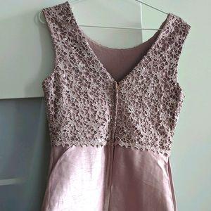 Blush pink formal dress, size 14